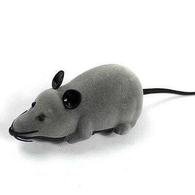 Mini Remote Control RC Mouse Mice Wireless Electronic Rat Toy f Cat Dog Pet Gift