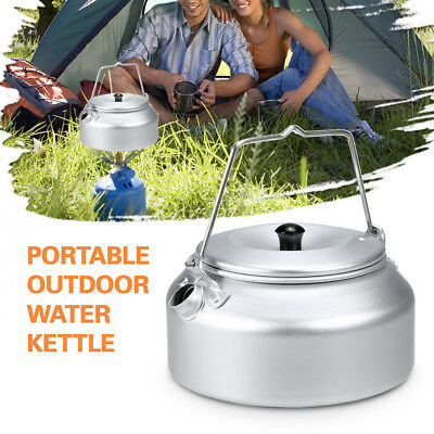 Ultralight Aluminum Camping Water Kettle Coffee Pot Teapot for Home Hiking Y1H2