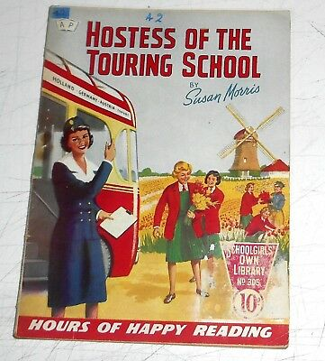 #305 Schoolgirl's Own Library Comics ~ HOSTESS OF THE TOURING SCHOOL ~ 1959