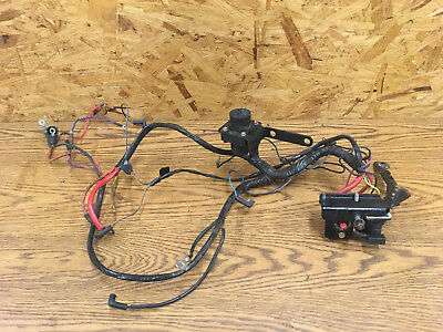 MERCRUISER WIRE WIRING Harness Tilt Power Trim Pump connector plug on connectors 3 prong, fuse 3 prong, plug 3 prong,