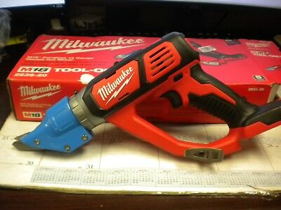 Milwaukee 2636-20 M18 Cordless 14 Gauge Double Cut Shear (Tool Only)