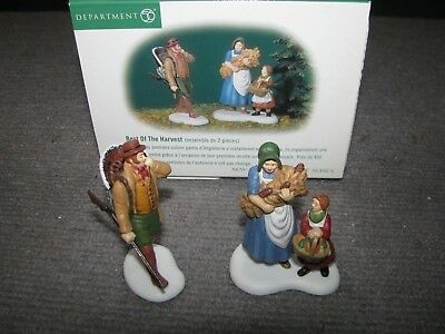 "Vintage Dept 56 Dickens Village ""Best Of The Harvest"" #56647 Christmas Heritage"