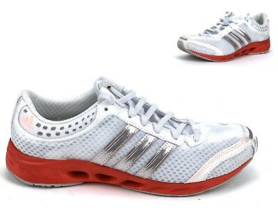 separation shoes 086a5 58380 ADIDAS CLIMACOOL RUNNING Shoes Women's Pink and White Size 7 1/2