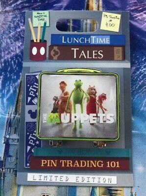 Disney LunchTime Tales Pin The Muppets Lunchbox Pin LE 1500 New In Hand
