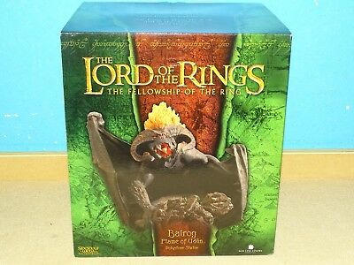 Weta The Lord Of The Rings Balrog, Flame Of Udun Mit Box