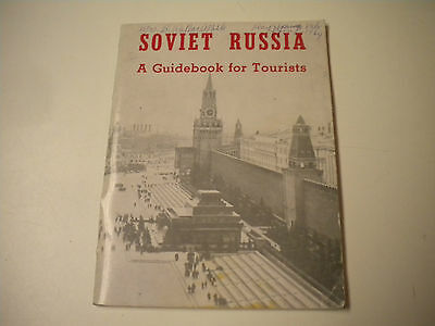 Vintage 1960's Soviet Russia Guidebook for Tourist Travel Brochure /Booklet (MD)