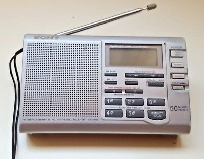 SONY ICF-SW35 SW FM LW AM World Band Radio Digital Tuning Receiver  icf sw35