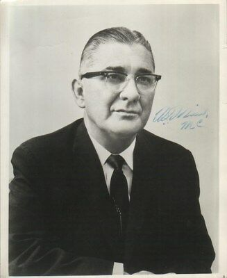 William Oswald Mills Autographed 8x10 Photo Maryland Politician D.73 Suicide