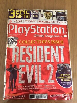 Playstation Magazine UK: Resident Evil 2 Collectors Issue - Expedited post US EU