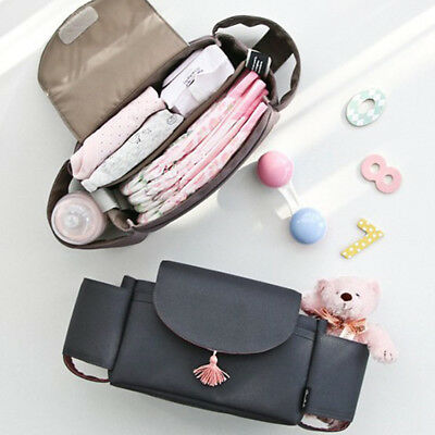 Tote Baby Stroller Carriage Trolley Multifunctional Carrying Case Storage Bag