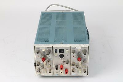 Tektronix TM503 Chassis, 2x AM502 Differential Amp, PS 501-1 Power Supply