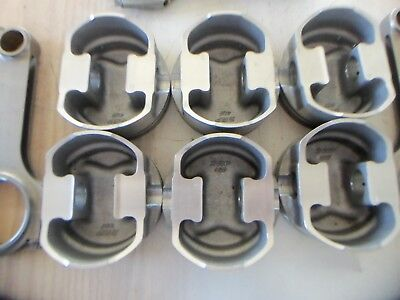 """408 SBF JE/SRP Pistons and 6.2"""" H Beam Rods Part set of 6"""