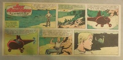 Jack Armstrong The All American Boy by Bob Schoenke 11/27/1949 Third Size Page !