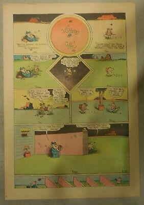 Krazy Kat Sunday by George Herriman from 5/28/1944 Tabloid Size Page Last Year!