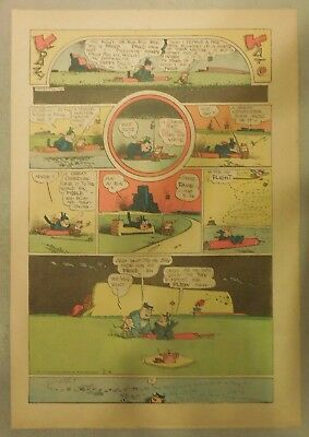 Krazy Kat Sunday by George Herriman from 2/6/1944 Tabloid Size Page Last Year!