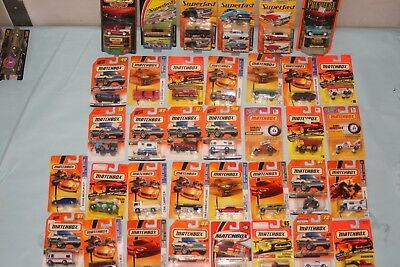 Matchbox Mixed Lot Of 35 Die Cast Cars