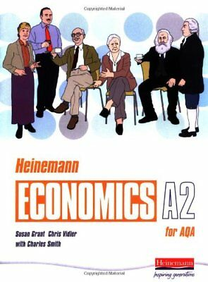 Heinemann Economics for AQA: A2 Student Book by Vidler, Chris Paperback Book The