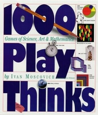 1000 Playthinks by Moscovich, Ivan Paperback Book The Cheap Fast Free Post