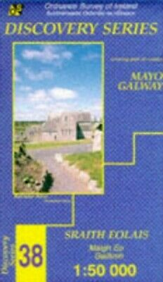 Irish Map Discovery: Mayo (South/Central... by Ordnance Survey Sheet map, folded