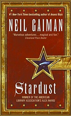 Stardust by Gaiman, Neil Paperback Book The Cheap Fast Free Post
