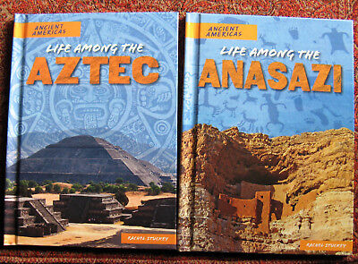Lot of 2 from Ancient Americas series. PowerKids Press, Rosen Publishing, 2017