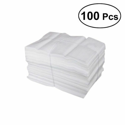 100 Pcs Foam Pouches Shockproof Shatterproof Foam Wrap Sheets for Moving Packing