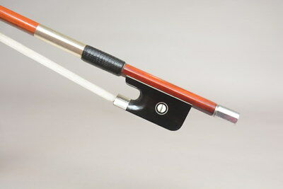 SARTORY copy!A Top Genuine Pernambuco Cello Bow,Silver mouted! 79.8G