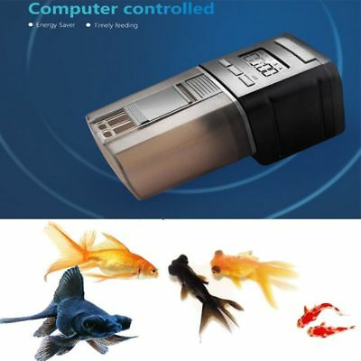 Programmable Mini Auto Fish Feeder Aquarium Tank Automatic Food Dispenser