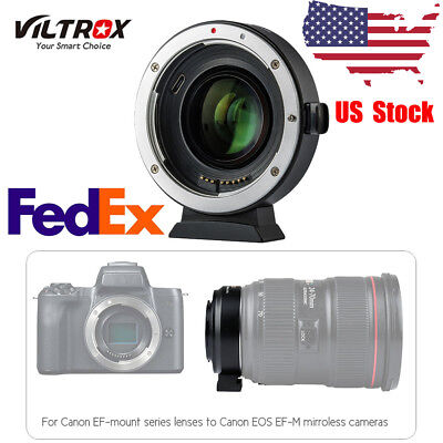 Viltrox Ef-Eos M2 Auto Focus Lens Mount Adapter For Canon Ef To Eos Ef-M E2W1