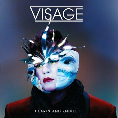 Visage - Hearts And Knives - Visage CD IKVG The Cheap Fast Free Post The Cheap