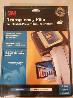 3m transparency film 17 sheets