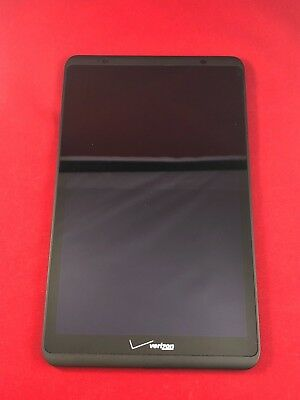 Verizon 8'' QTAQZ3 Ellipsis 8 Assembly LCD Screen Digitizer Glass w/ Frame USA