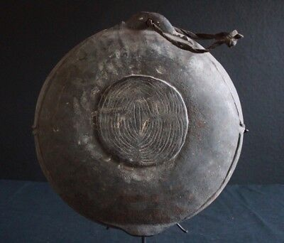 Ancient stone carved Boiken bowl, New Guinea