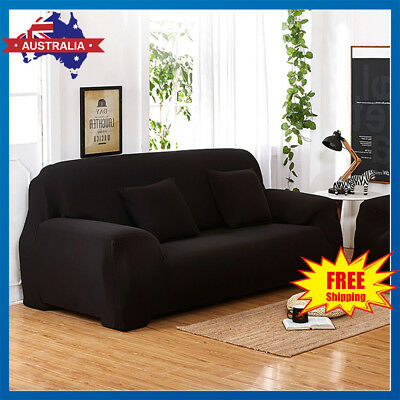 1 2 3 4 Seater Easy Stretch Sofa Cover Couch Lounge Recliner Slipcover Protector