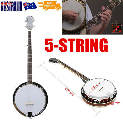 5-String Banjo Professional Sapelli Notopleura Wood Alloy Exquisit