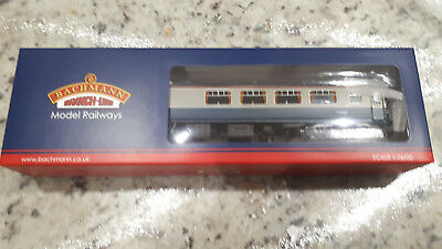 Bachmann 39-321 Mk1 BSP Pullman Night Cap Bar Blue & Grey With Lighting OO Gauge