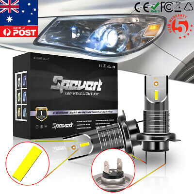H7 110W 30000LM LED Headlight Kit High & Low Bulbs Auto Car Driving DRL Fog Lamp