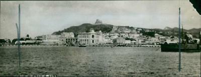 Durazzo albania:the principal harbour of albania. - Vintage photo