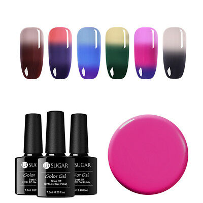 UR SUGAR Temperature Change UV Gel Thermal Nail Polish Soak Off Nail Varnish