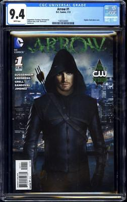 Arrow #1 TV Photo cover Variant CGC 9.4 Green Arrow Stephen Amell cover
