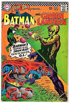 Brave and the Bold #69 with Batman & Green Lantern, Fine Condition