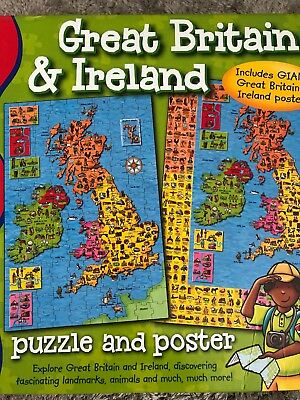 Geography Map Of England.Geography Poster London A Z Road Map 24x36 Great Britain Uk