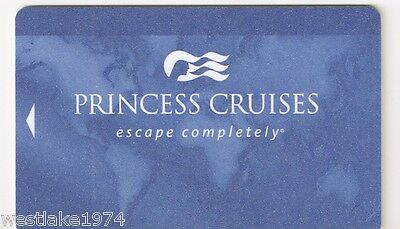 NEW Princess Cruise Line  Blank Blue Cabin / Key / Account Card