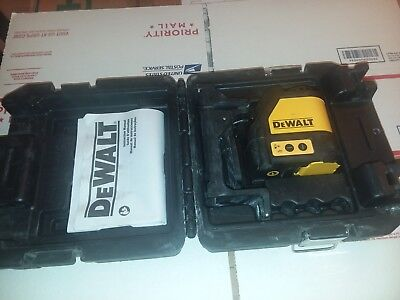 dewalt DW088CG self leveling green cross line laser