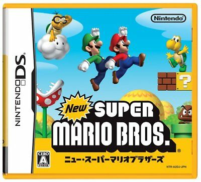 USED DS New Super Mario Bros. Import