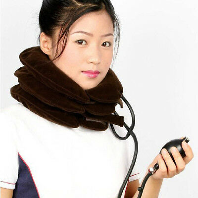 New Cervical Neck Traction for Headache Head Back Shoulder Neck Pain lot V9