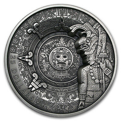 2018 Samoa 1 kilo Silver Maya Heritages Multiple Layer Coin - SKU#163471