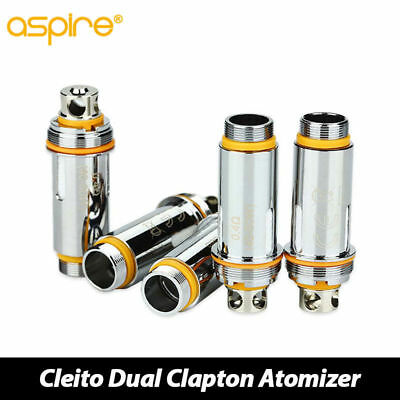100 % Genuine ASPIRE Cleito Replacement Coils (5 pack)  0.4/0.2 Ohm - PRO & MESH