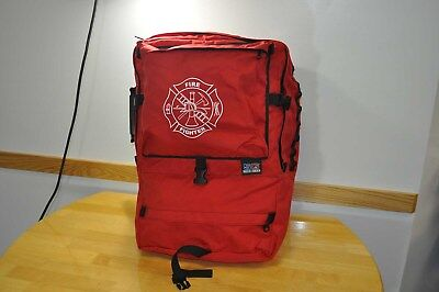 """New """"Out of County"""" Firefighter Red Gearpack"""