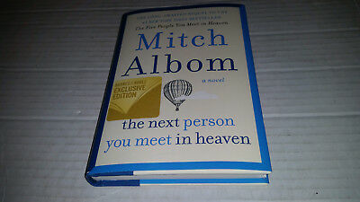 The Next Person You Meet in Heaven by Mitch Albom (B&N Exclusive Edition) SIGNED